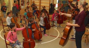 Afbeelding behorende bij Cellolessen | Mirjam Mudde