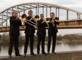 Afbeelding behorende bij Nederlands Trombone Kwartet & Janneke Schaareman