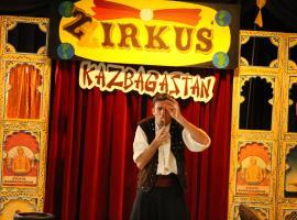 Afbeelding behorende bij Zirkus Kazbagastan