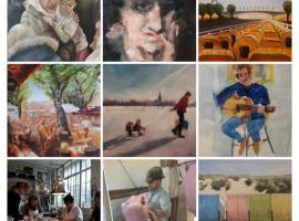 Afbeelding behorende bij Expositie Jasper van Deutekom | Cursisten presenteren hun werk