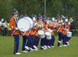 Afbeelding behorende bij Drum en Showfanfare Gelreband, Dieren | Marsmuziek maar ook latin en pop