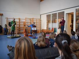Afbeelding behorende bij Instrumentenpitch   Bij Mauritiusschool in Rheden