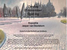 Afbeelding behorende bij Opening expositie Jasper van Deutekom