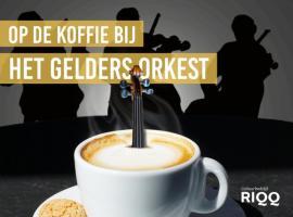 Afbeelding behorende bij Op de koffie bij Het Gelders Orkest
