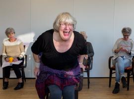 Afbeelding behorende bij Slotfestijn seniorenproject 'Rimpelingen'!  
