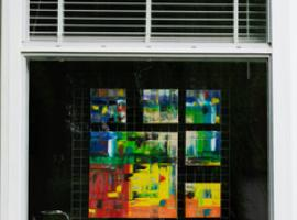 Afbeelding behorende bij Kunst voor het raam | WieKentRheden