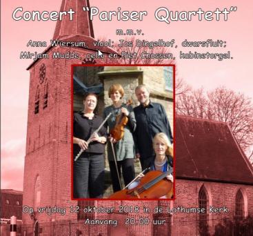 Afbeelding behorende bij Concert Pariser Quartett