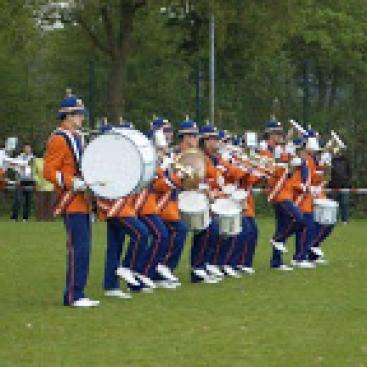 Afbeelding behorende bij Drum en Showfanfare Gelreband, Dieren   Marsmuziek maar ook latin en pop