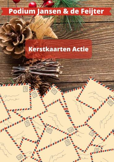 Afbeelding behorende bij Kerstkaartenactie Podium Jansen & de Feijter |