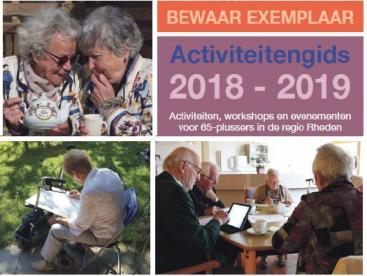Afbeelding behorende bij Activiteitengids voor ouderen nu ook digitaal beschikbaar |