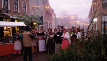 Afbeelding behorende bij Optredens tijdens kerstmarkt Doesburg