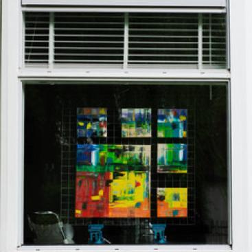 Afbeelding behorende bij Kunst voor het raam   WieKentRheden