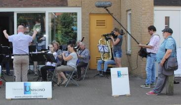 Afbeelding behorende bij Omroep Gelderland helpt Harmonie Unisono Velp |